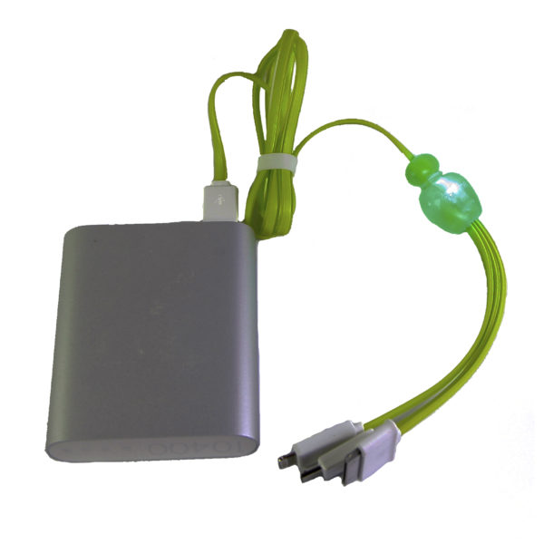 3 in 1 USB cable with light ($9.50) model (3UL-15)