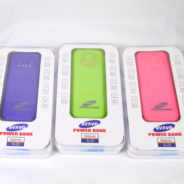 5600mAh power bank ($18.50) model (PB-43)
