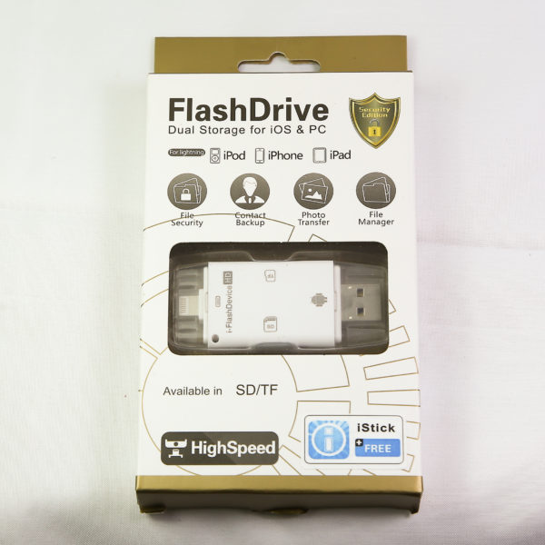 Flash drive dual storage ($25.00) model (FD-55)